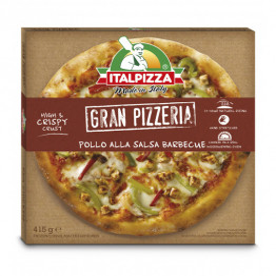 PIZZA POLLO BARBACOA